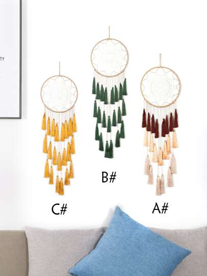 1pc Wall Hanging Fringe Dream Catcher