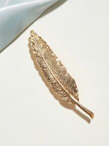 1pc Leaf Design Brooch