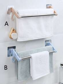 1pc Wall Mounted Towel Rack