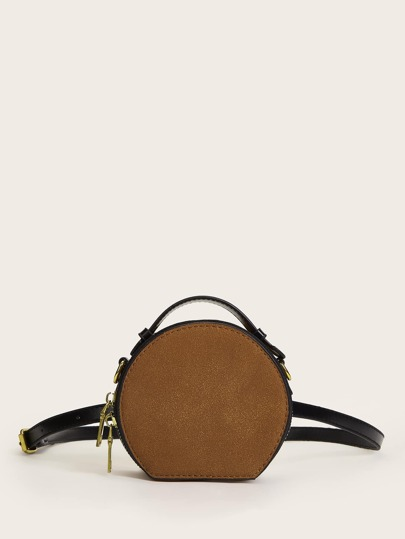 Mini Round Shaped Fanny Pack