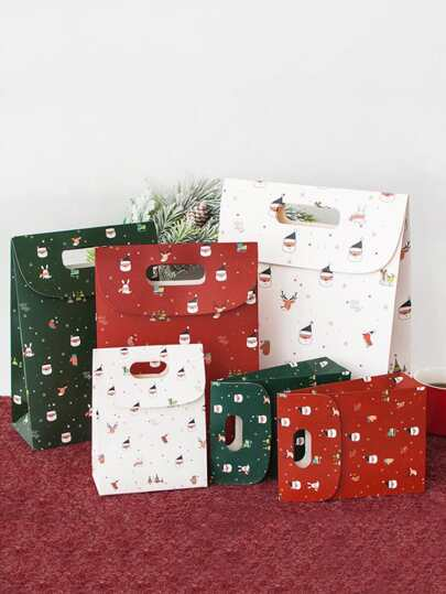 3pcs Christmas Gift Package Bag