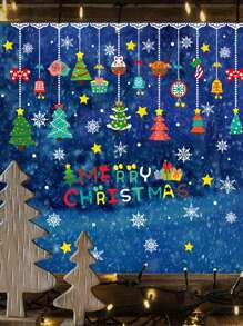 Christmas Print Wall Sticker