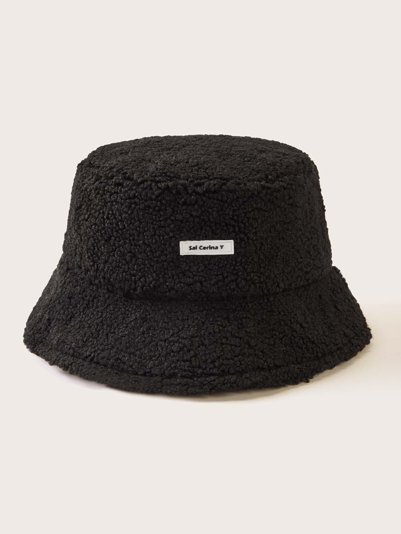 Men Fluffy Bucket Hat Shein Usa