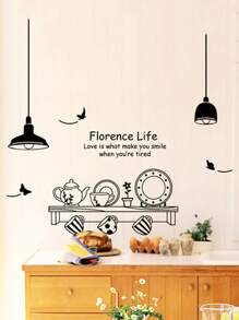 Florence Life Wall Sticker