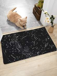 Constellation Print Floor Mat