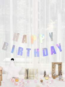 1pc Happy Birthday Banner