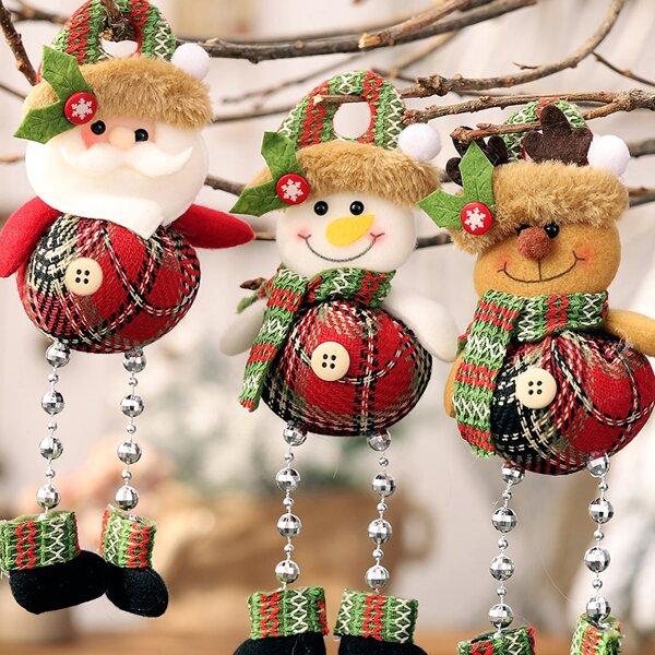 1pc Christmas Decorative Hanging Ornament, Multicolor