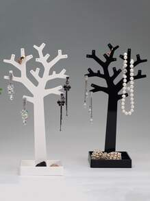 1pc Tree Design Jewelry Storage Rack