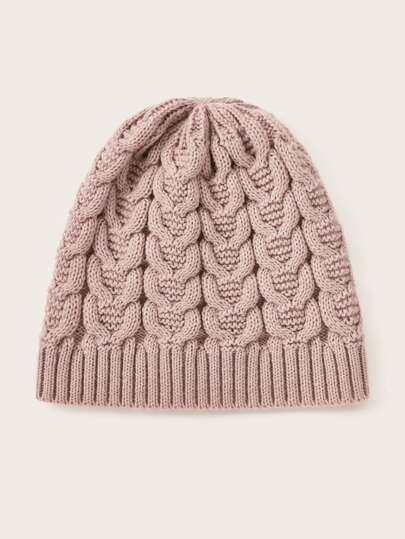 Simple Twist Beanie