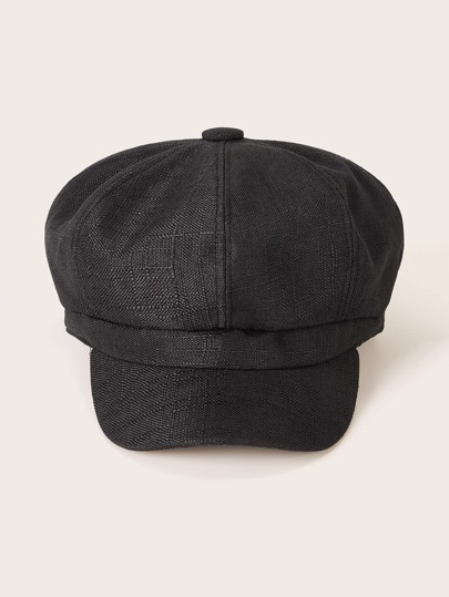 Simple Newsboy Hat