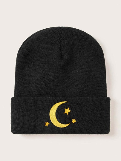 Moon & Star Decor Beanie