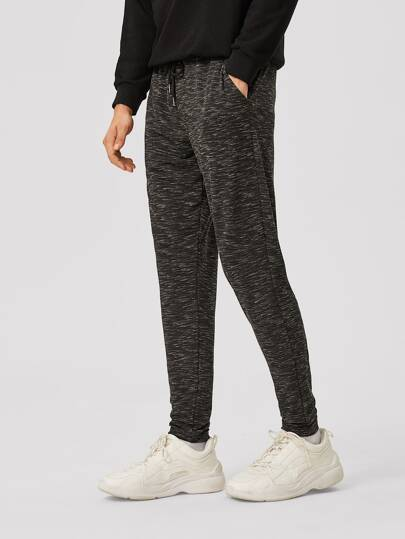 Guys Slant Pocket Space Dye Sweatpants