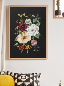 Flower Wall Art Print Without Frame
