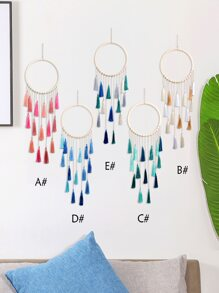 1pc Tassel Dream Catcher Wall Hanging Decor