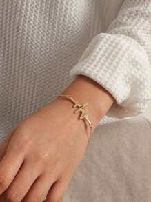 1pc Geometrical Bar Chain Bracelet