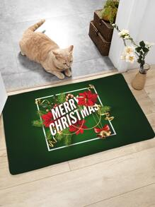 Christmas Pattern Floor Mat