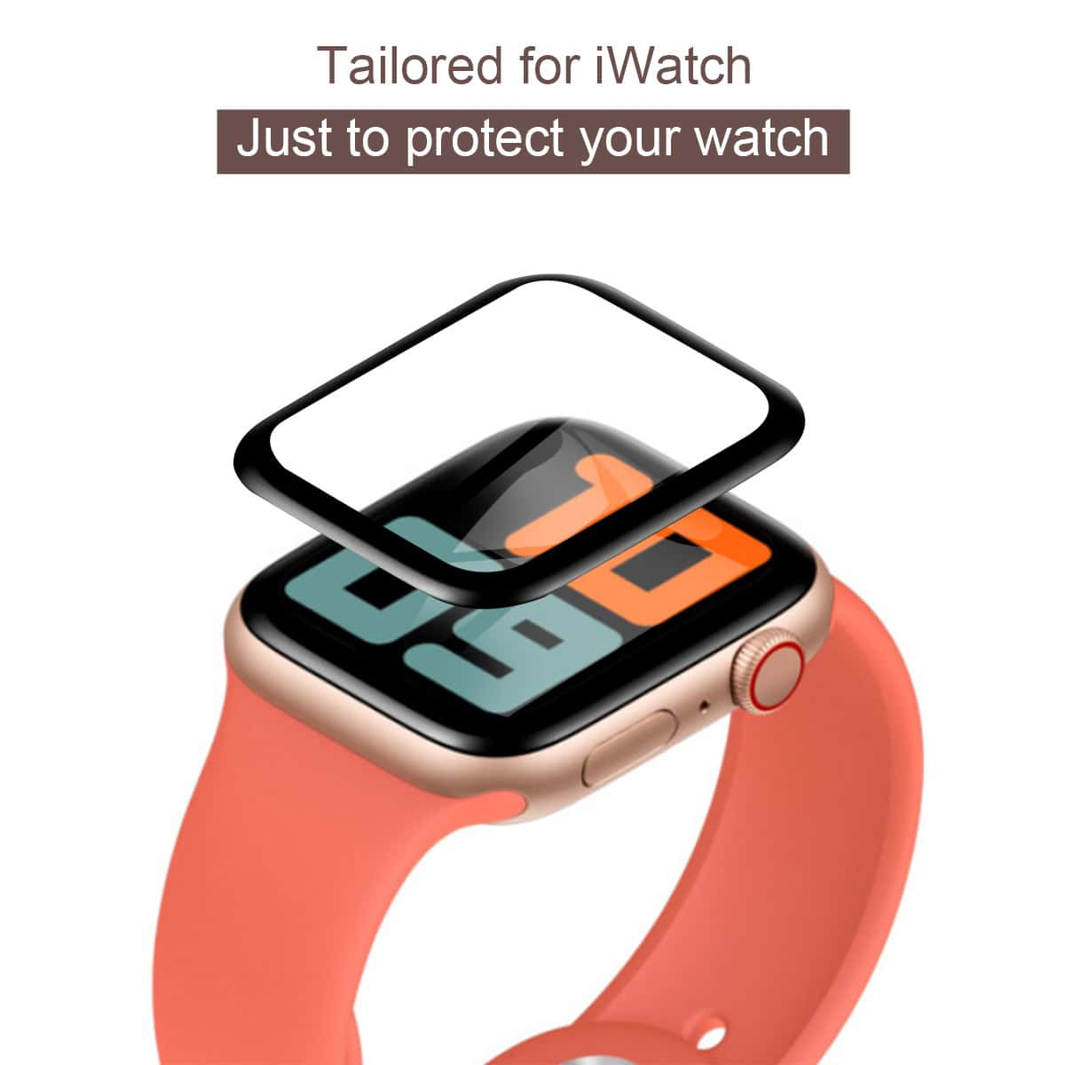 1pc iWatch Screen Protector, SHEIN  - buy with discount