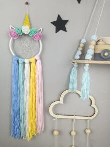 Unicorn Design Dream Catcher Wall Hanging Decor