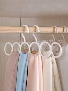 1pc Five Ring Design Scarf Hanger