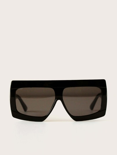 Flat Top Sunglasses With Case