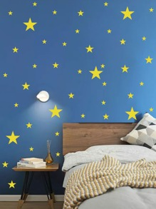Star Print Wall Sticker