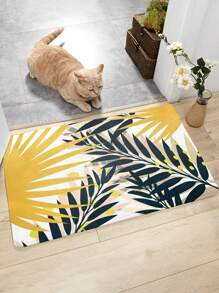 1pc Palm Print Floor Mat