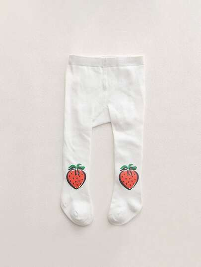Baby Strawberry Pattern Tight