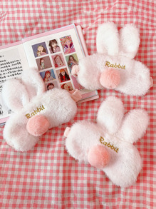1pc Cute Bunny Design Eye Mask