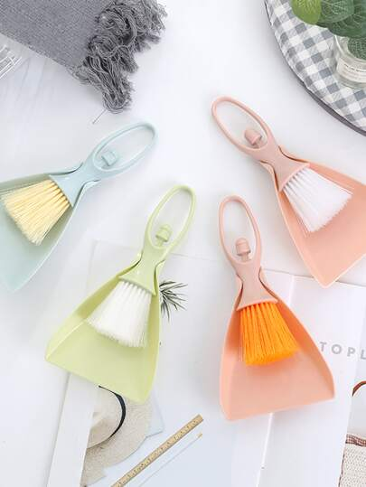 1pc 2 In 1 Mini Cleaning With Dustpan
