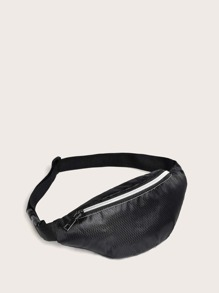 kids zip front fanny pack