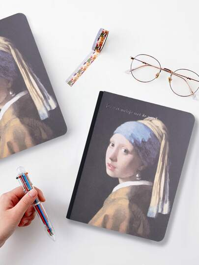 1pack Oil Painting Cover Notebook