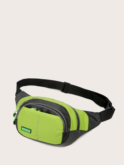 Color Block Fanny Pack