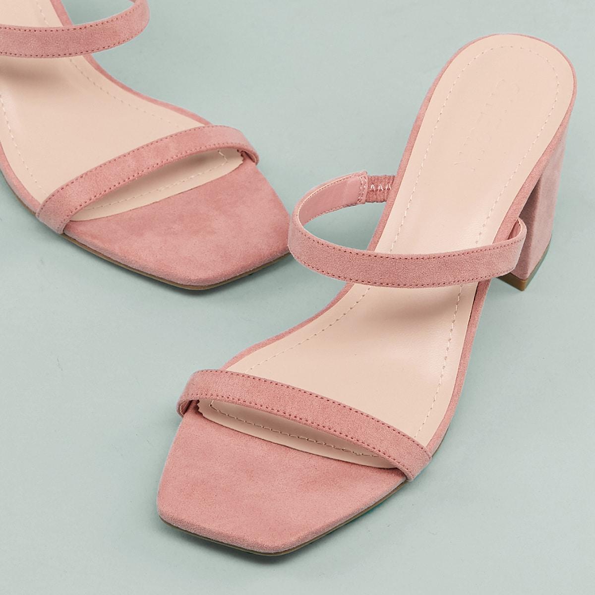 Туфли из искусственной кожи от SHEIN