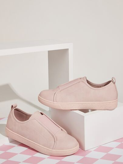 Slip On Wide Fit Sneakers
