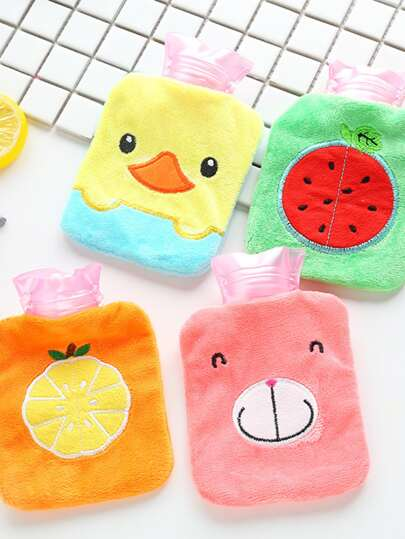 1pc Cartoon Graphic Hot Water Bag