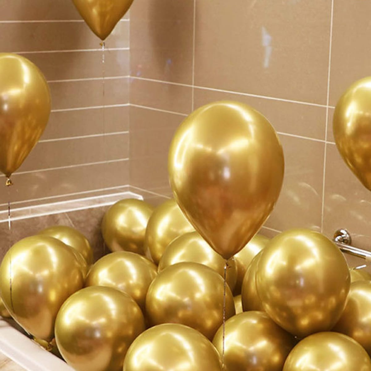 10pcs 12inch Metallic Balloon