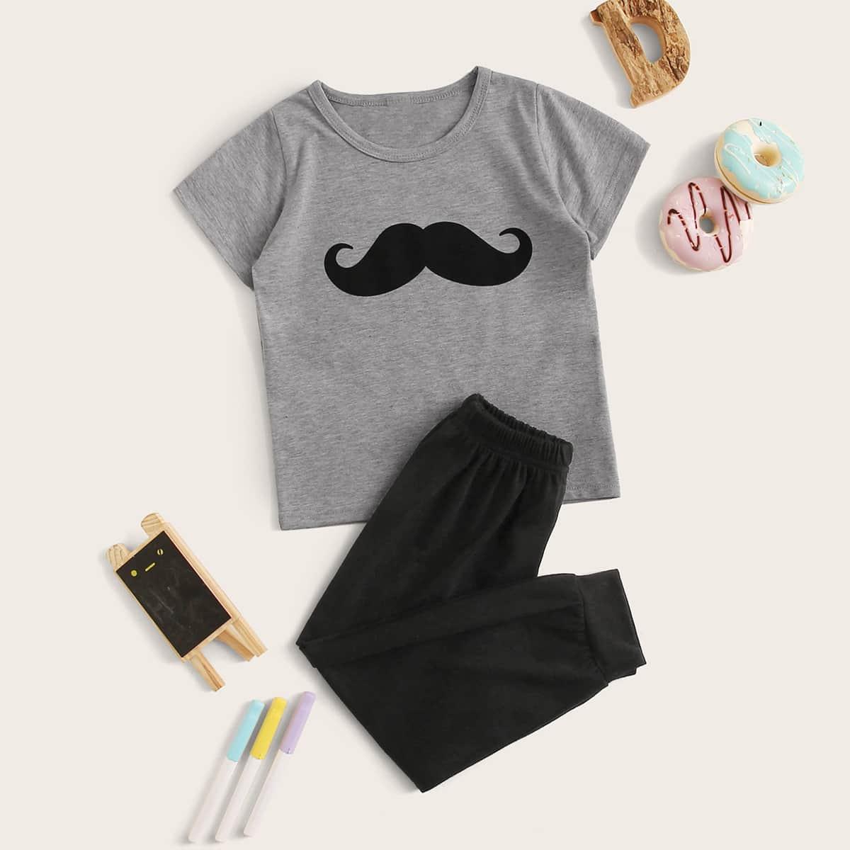 Пижама с принтом для мальчиков