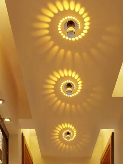 Spiral Led Wall Lamp