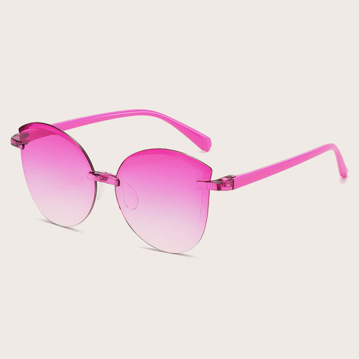 Kleinkind Mädchen Katzenauge Acrylrahmen Sonnenbrille