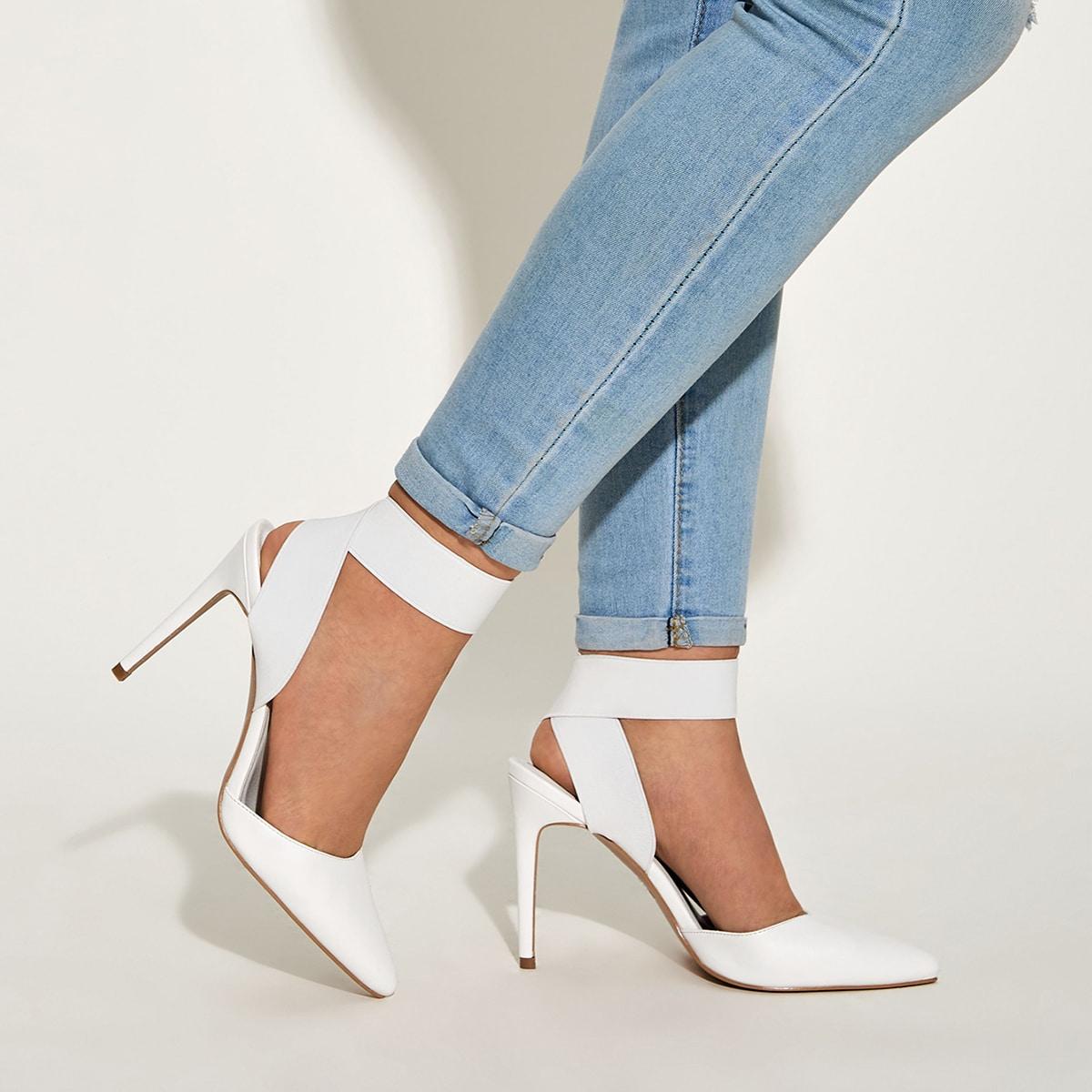 Остроконечные туфли на шпильках от SHEIN