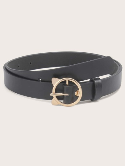 Ear Round Buckle Belt