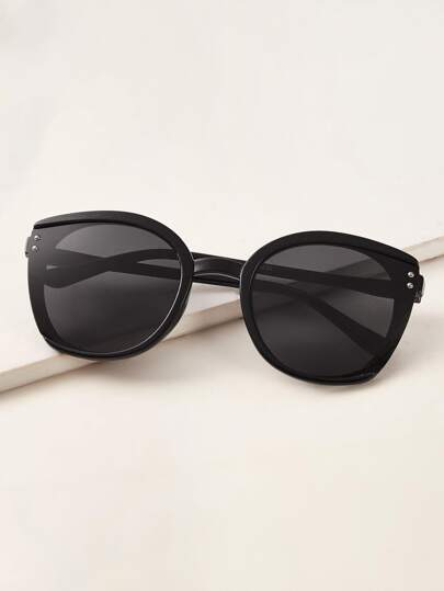 Cat Eye Acrylic Frame Sunglasses