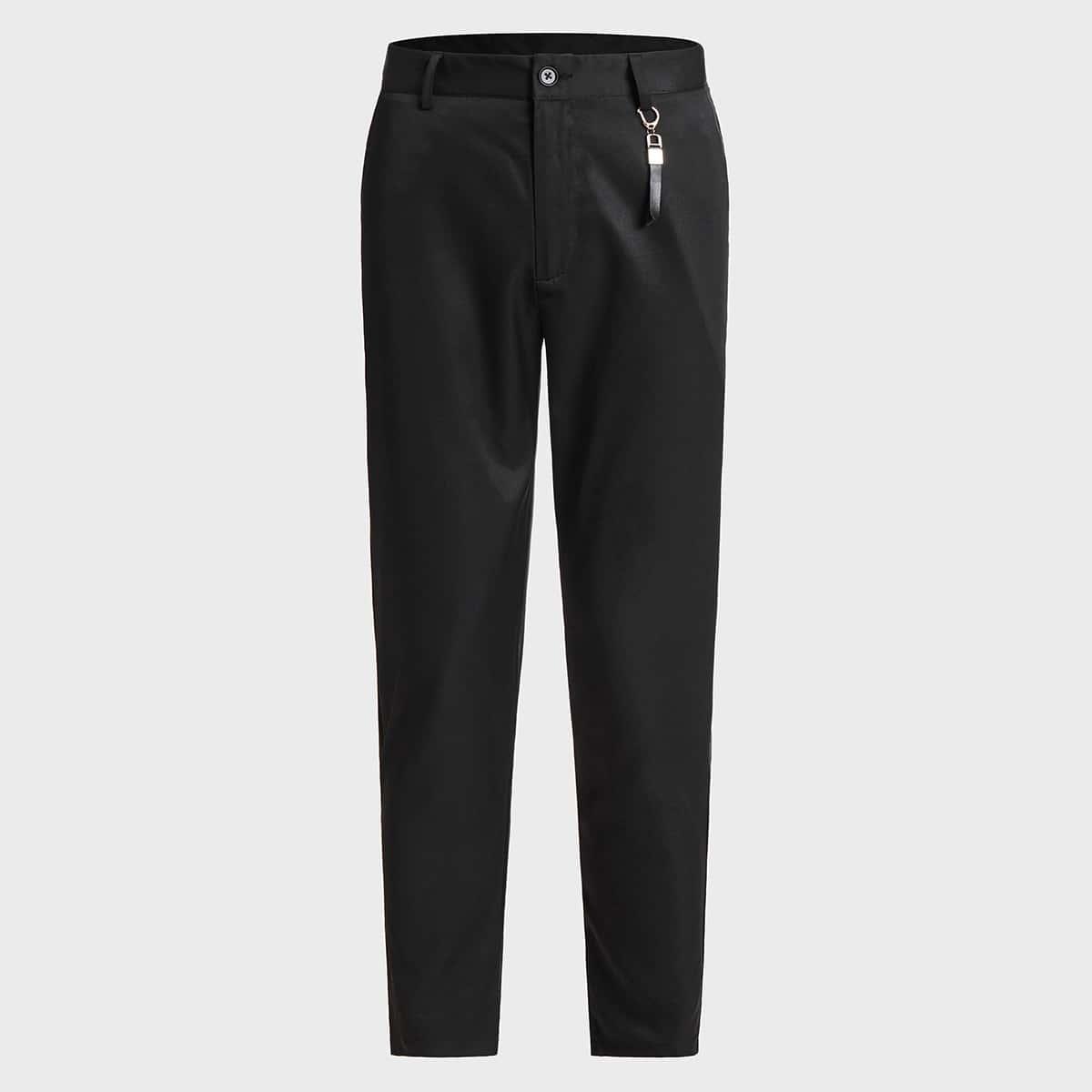 Мужские брюки с брелком