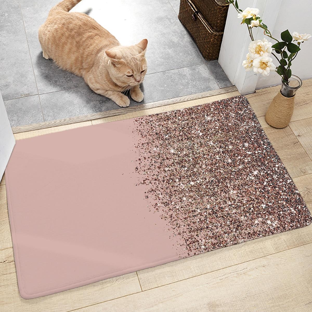 Farbverlauf Treibsand Muster Bodenmatte