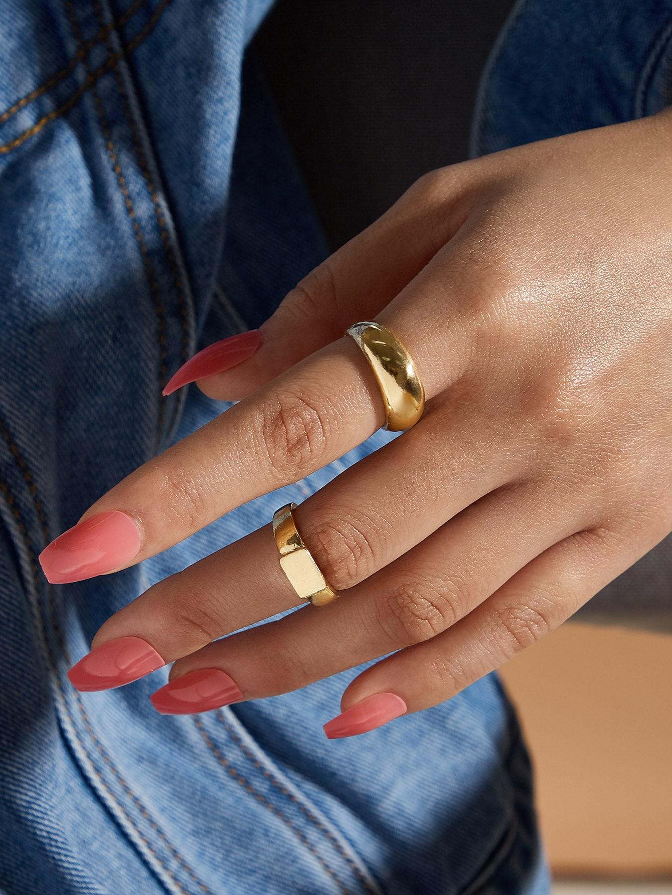 2pcs Metallic Ring thumbnail
