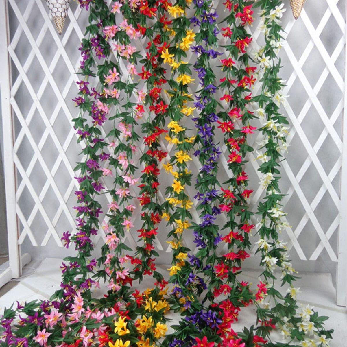 1 Strauß Künstliche Lilien Schnur