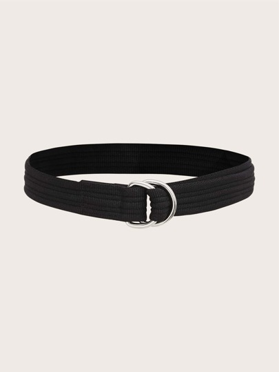 Metal Buckle Tape Belt