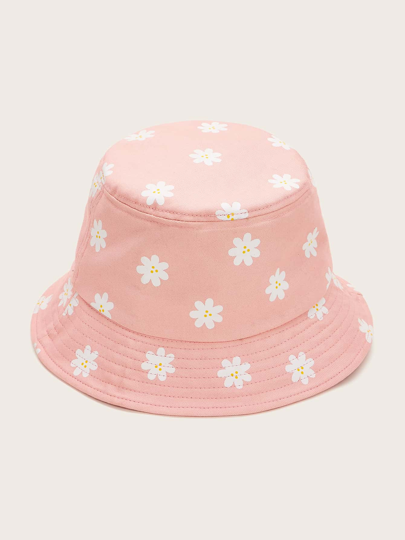Floral Embroidery Bucket Hat Shein Eur