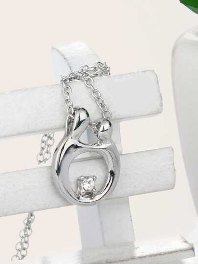 1pc Mothers Day Motherly Love Charm Necklace