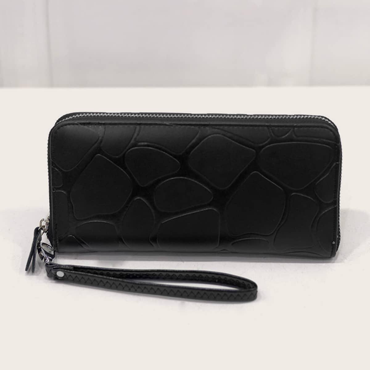 Minimalistische Brieftasche mit Armband